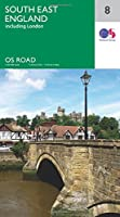 South East England (OS Road Map)