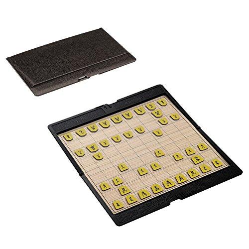 Sarada 将棋セット 超薄型 軽量 折りたたみ マグネット ポケットサイズ 旅行 携帯 対局 対戦 ゲーム ボードゲーム 移動中