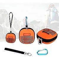 Beneges 衝撃吸収 Bose Soundlink Micro Bluetooth speaker専用ケース 軽量 カラビナとフック付き 携帯便利