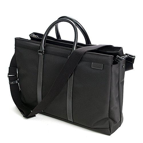 (ラガシャ) LAGASHA 2wayビジネスバッグ ショルダーバッグ 7145 1.ブラック