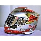F1 レプリカヘルメット セバスチャン・ベッテル 2010 ドイツGP特別仕様 Mサイズ(57-58cm)