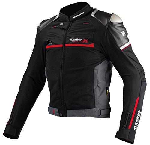 コミネ KOMINE バイク チタニウム メッシュ ジャケット アウター プロテクター 通気性 BLACK XL 00-001 JJ-001