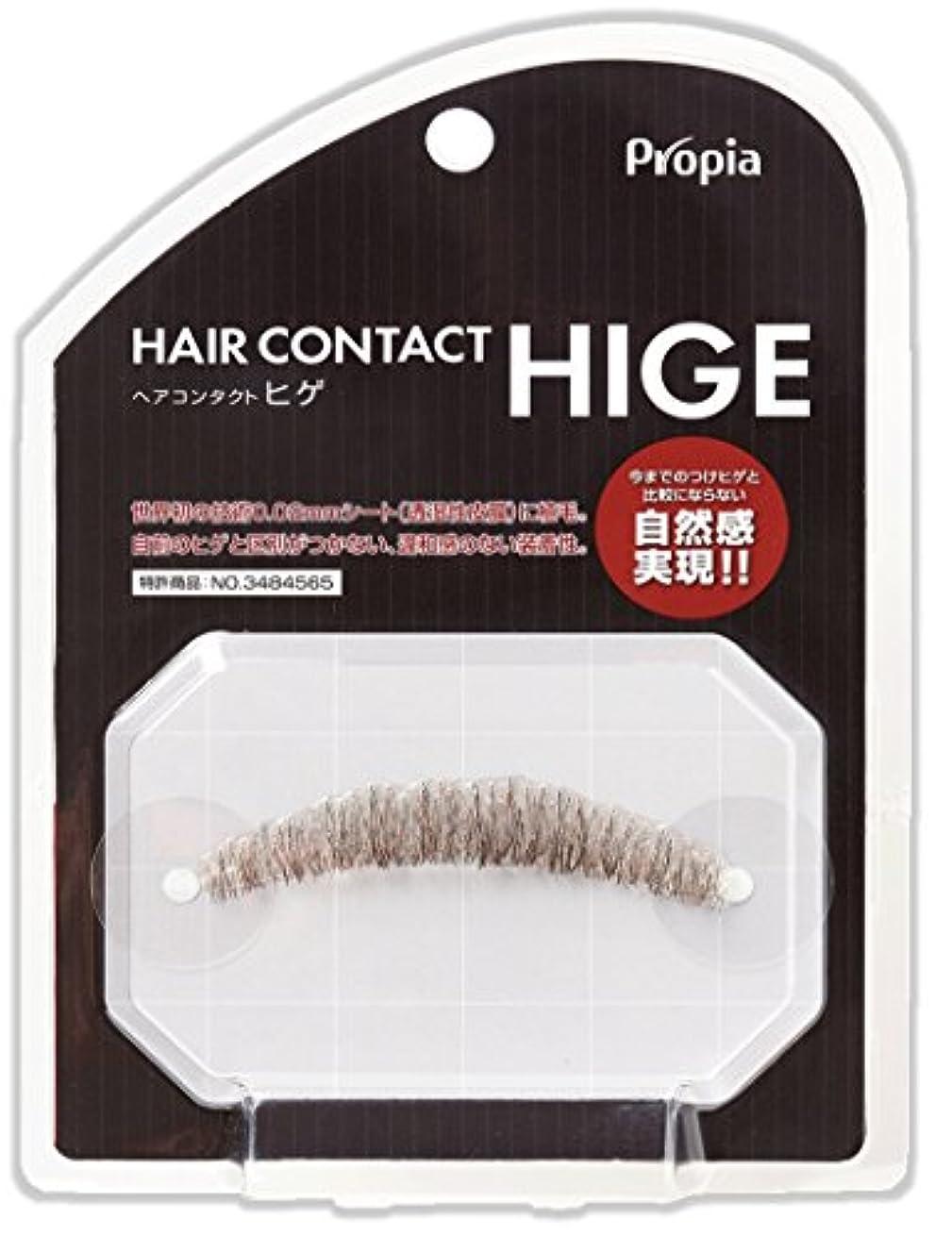 プレーヤー受動的確認HAIR CONTACT HIGE クチヒゲ ピラミダル