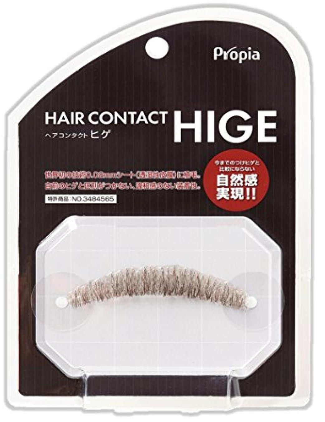 誇張プール委員会HAIR CONTACT HIGE クチヒゲ ピラミダル