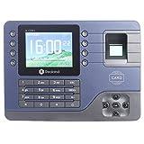 Realand 指紋の出席マシン 指紋認証 タイムレコーダー 出退勤記録機  勤怠管理 会社/オフィス管理 Realand Fingerprint Time Attendance Clock RFID ID Card TCP/IP USB Port Employee Software