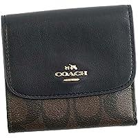 COACH F (コーチ F) 三つ折り財布 小銭入れ BK/BR 87589 WALLET [並行輸入品]