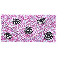 From St Xavier Women's I SPY Clutch, Pink/Blue, One Size