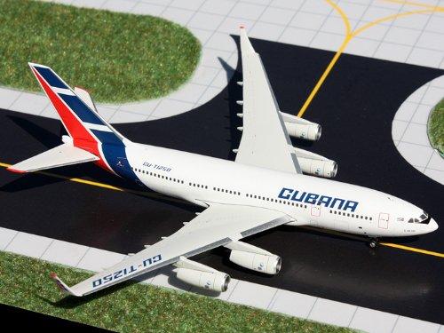 1: 400 ジェミニジェット Cubana Ilyushin IL-96-300 (並行輸入)