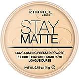 Rimmel Stay Matte Pressed Powder, Transparent Nr. 001, 14 g