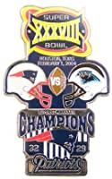 Super Bowl XXXVIII Oversized Commemorative Pin