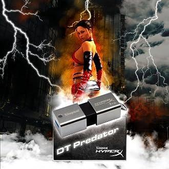 キングストンテクノロジー Kingston USBメモリ 512GB Digital HyperX Predator DataTraveler USB3.0対応 DTHXP30/512GB [並行輸入品]