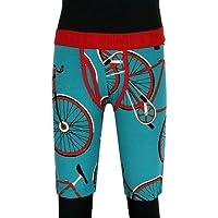 【Paul Smith】ポールスミス 「POP」自転車プリントロングボクサーパンツ 緑 size M