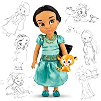 輸入ディズニー Disney Store Holiday Animators Jasmine with Raja Doll [並行輸入品]
