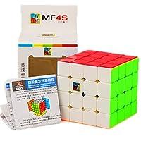[CuberSpeed]CuberSpeed Moyu Mofang Jiaoshi 4X4 Stickerless Magic cube Cubing Classroom MF4S color 4X4X4 Speed cube CBMF014 [並行輸入品]