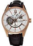 [オリエント]ORIENT 腕時計 ORIENTSTAR オリエントスター セミスケルトン 機械式 自動巻(手巻付) ホワイト WZ0211DK メンズ