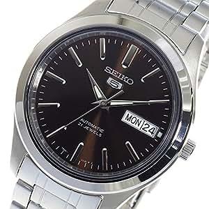 セイコー セイコーファイブ SEIKO 5 自動巻き メンズ 腕時計 SNKM45K1 ブラウン [並行輸入品]
