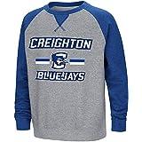 Colosseum Youth Creighton Bluejaysフリースクルーネックスウェットシャツ