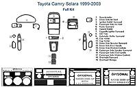 Toyotaソアラフルダッシュトリムキット ブラウン SKU1553-Walnut Burlwood