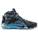 ナイキ シューズ スニーカー Men's Nike LeBron 12 Black/Pink 297 [並行輸入品]