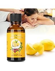 30ml レモンオイル マッサージ エッセンシャルオイル 保湿 スパアロマセラピー ボディ マッサージオイル