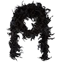 [ロードアイランドノベルティー]Rhode Island Novelty 6' Black Play Fancy Dress Up Toy Feather Boa [並行輸入品]