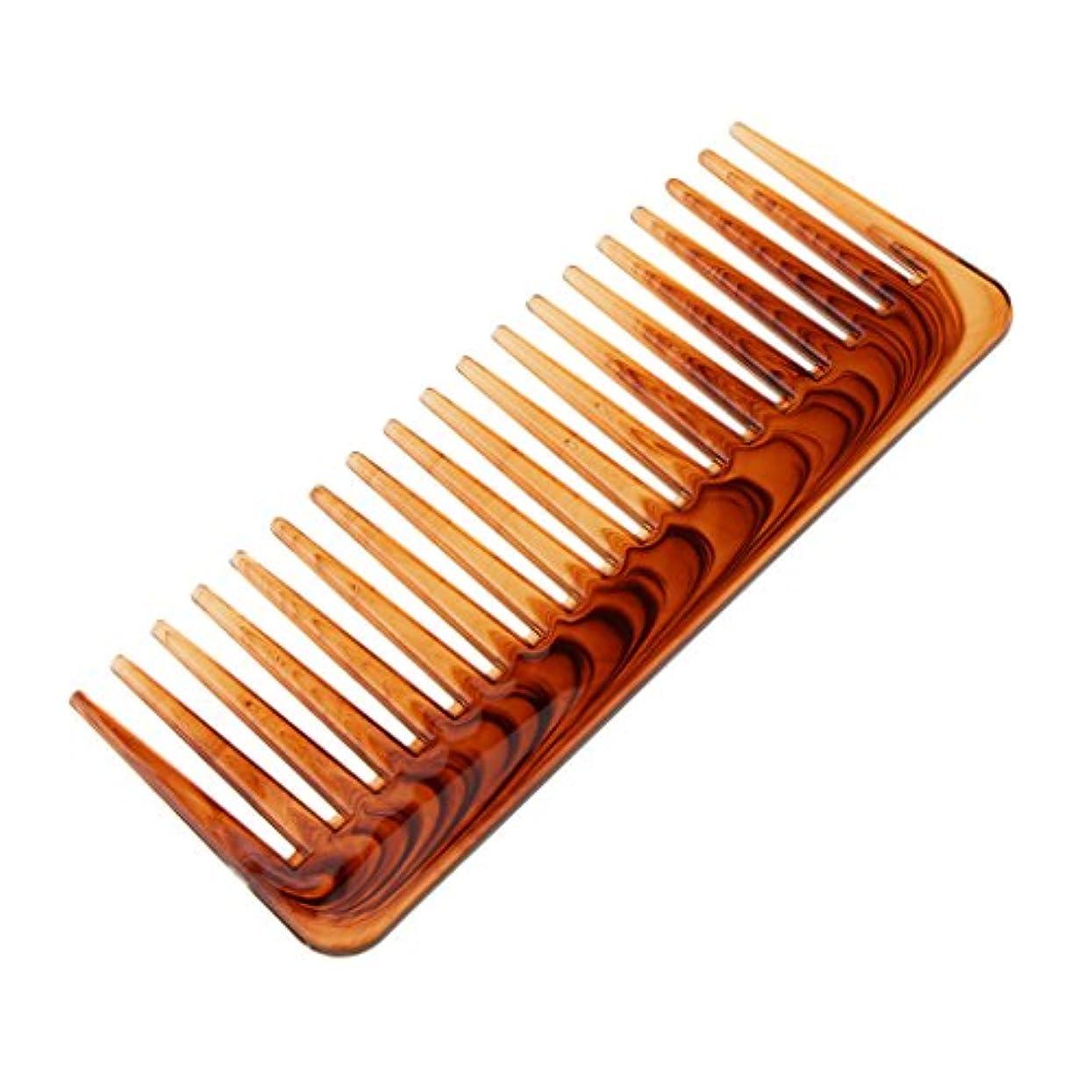 作る順応性のある条約ヘアコーム コーム ワイド歯 ヘアブラシ 櫛 くし ヘアスタイリング 頭皮マッサージ 耐熱性 帯電防止
