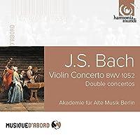 J.S. Bach: Violin Concerto BWV1052, Double Concertos for harpsichords, recorders, oboe and violin by Akademie fur Alte Musik Berlin