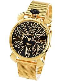 newest c04b6 38cfb Amazon.co.jp: ゴールド - GAGA MILANO(ガガミラノ): 腕時計