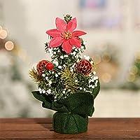 RaiFu クリスマスツリー ミニ 卓上 オフィス 家 寝室 デスク クリスマス装飾 装飾 飾り物 玩具 クリスマス 可愛い ギフト プレゼント タイプ7