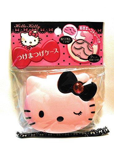 [해외]산리오 헬로 키티 속눈썹 케이스 (트레이~ 핑크) [병행 수입품]/Sanrio Hello Kitty False Eyelashes Case (Tray~ Pink) [Parallel import goods]