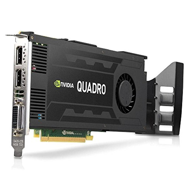ペン入射落胆させるNvidia Quadro K4200 4GB GDDR5 256-bit PCI Express 2.0 x16 フルハイトビデオカード リアブラケット付き (認定リファービッシュ品)