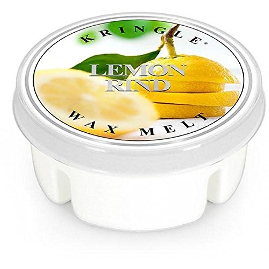 カウントアップレディ出血レモンRind Scented Candle Potpourri Wax Melts (1.25oz) 0028-002200 #151027