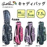 アーノルドパーマー こちらの商品は【 ピンク 】のみです。 46インチゴルフクラブ対応の軽量ゴルフバッグ! ARNOLD PALMER (アーノルド パーマー) キャディバッグ APCB-02 [簡易パッケージ品]