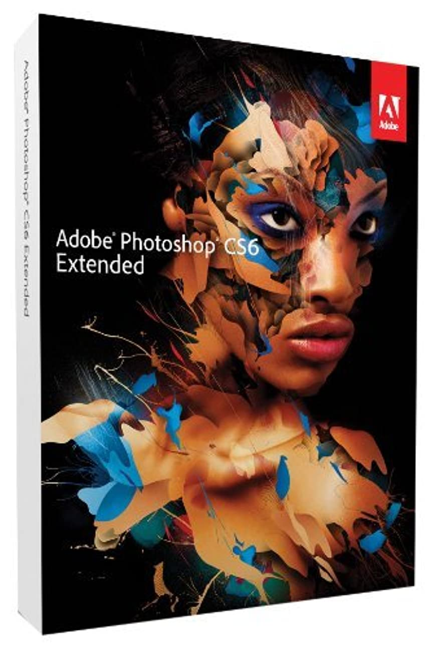 不規則性苦痛免除【並行輸入品】Adobe Photoshop CS6 Extended Windows用 ダウンロード版 (最大2台まで認証可) 《海外版?日本語変更可》