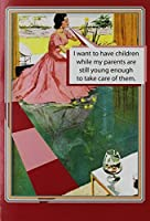 0072 'Parents Still Young' - Funny Mother's Day Greeting Card with 5 x 7 Envelope by NobleWorks [並行輸入品]