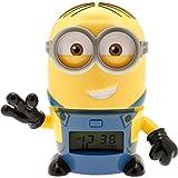 [バルブボッツ]BULBBOTZ LEGO WATCH キッズ おしゃべり 光る目覚まし時計 怪盗グルー ミニオンズ デイブ 置き時計 デジタルクロック 2021241 時計 [並行輸入品]