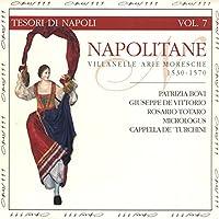 Napolitane:Villanelle, Arie