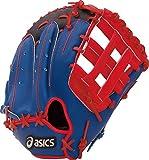 asics(アシックス) 軟式 野球 グローブ ファースト ミット 左投げ RH 一般 プロモデル BGRDPF ブラック