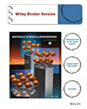 Cover of Materials Science and Engineering an Introduction 9E Binder Ready Version