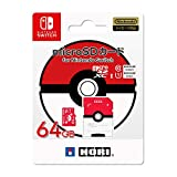 【任天堂ライセンス商品】ポケットモンスター microSDカード for Nintendo Switch 64GB モンスターボール【Nintendo Switch対応】