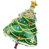 KOZEEY大飾ら クリスマスツリー バルーン メリークリスマス ホームパーティー アクセサリー 風船