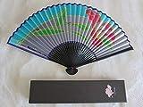 LEONARD レオナール レオナール社デザイン、京扇子宮脇賣扇庵製作の扇子