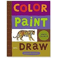 Color, Paint & Draw - Rainforest by Crocodile Creek [並行輸入品]