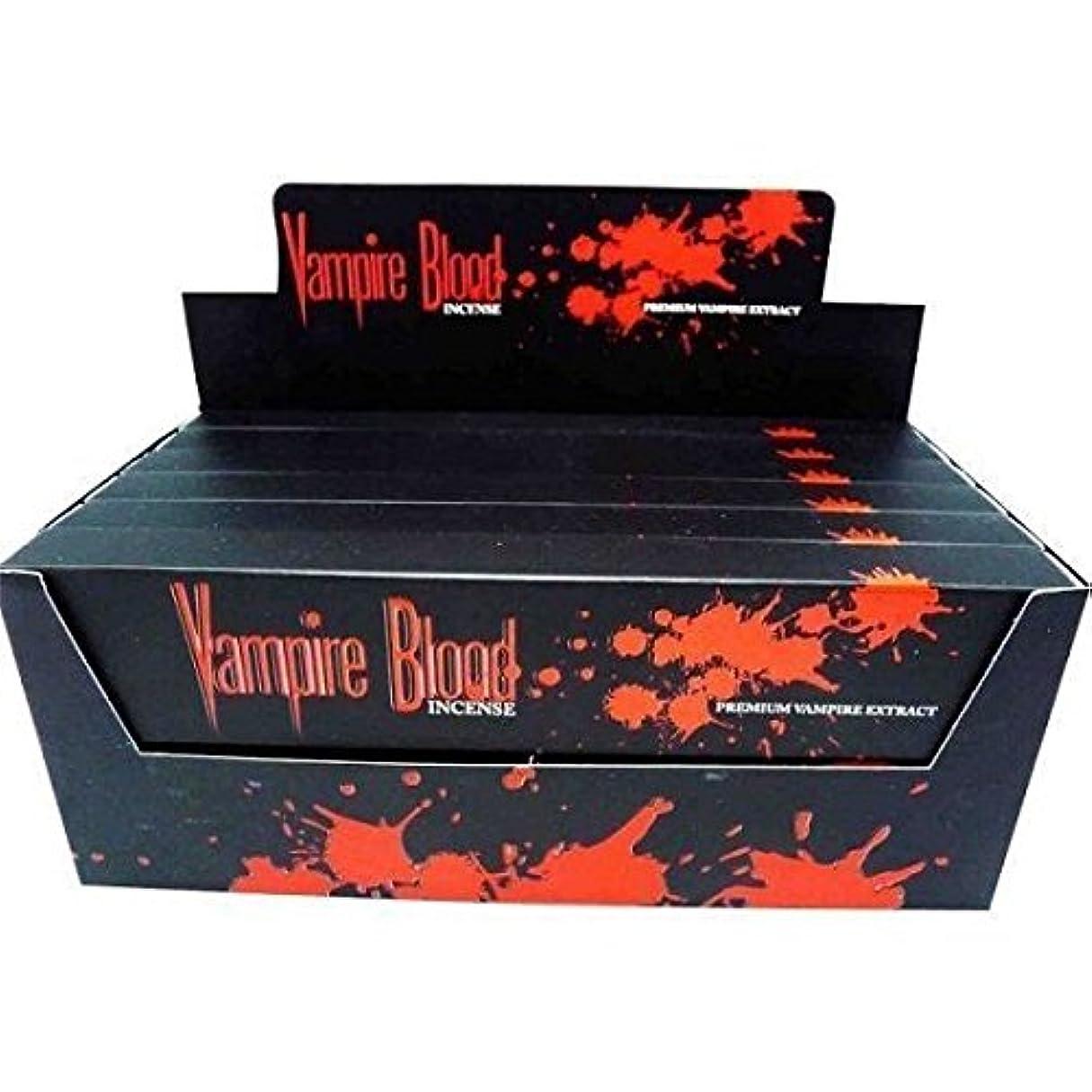 未就学マイルストーンアダルトNandita Vampire Blood Incense Sticks Agarbathi – 15 Gボックス ブラウン