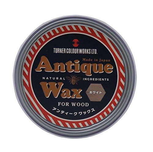 ターナー アンティークワックス ホワイト AW120007 120g