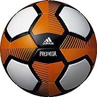 adidas(アディダス) サッカーボール プレデター グライダー AF4637BKO ホワイト×オレンジ