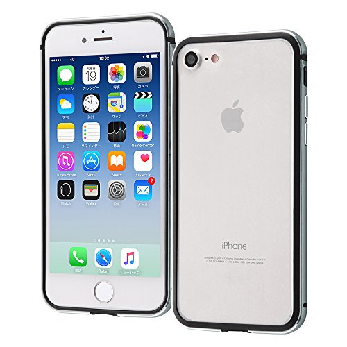 iPhone 8 / iPhone 7 アルミバンパー [ 衝撃吸収 2重構...