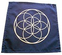 クリスタルグリッド布Sacred Geometry Seed of Life Design by earthegy