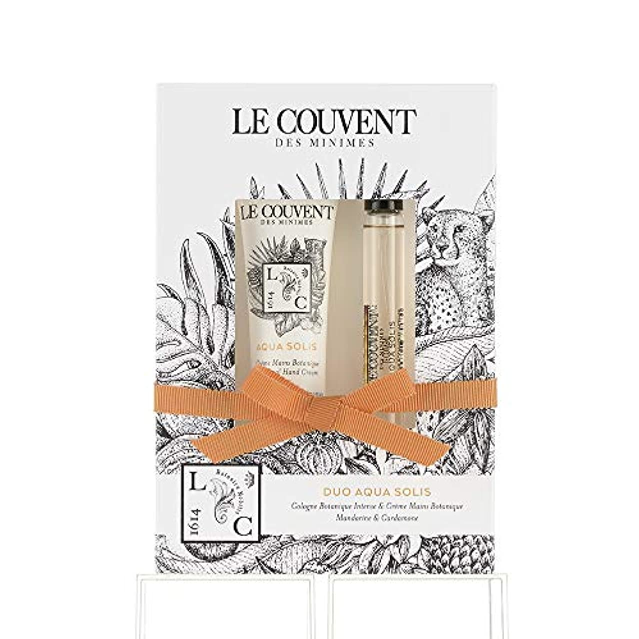 性別歯痛抹消クヴォン?デ?ミニム(Le Couvent des Minimes) ボタニカルデュオ ボタニカルコロン アクアソリス10mL×1、アクアソリス ハンドクリーム30g×1