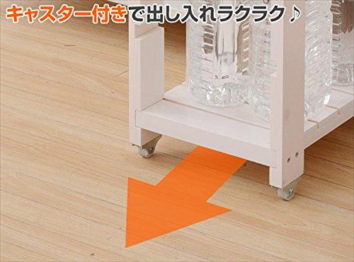山善(YAMAZEN) すきま収納 キッチンラック(幅30 奥行40 高さ85) SSR-3048C